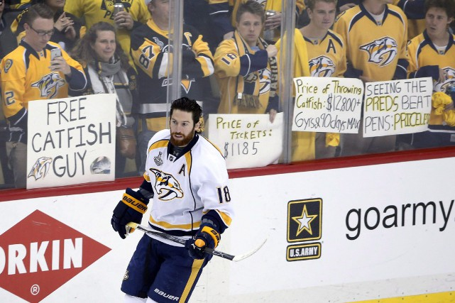 James Neal... (Photo archives AP)
