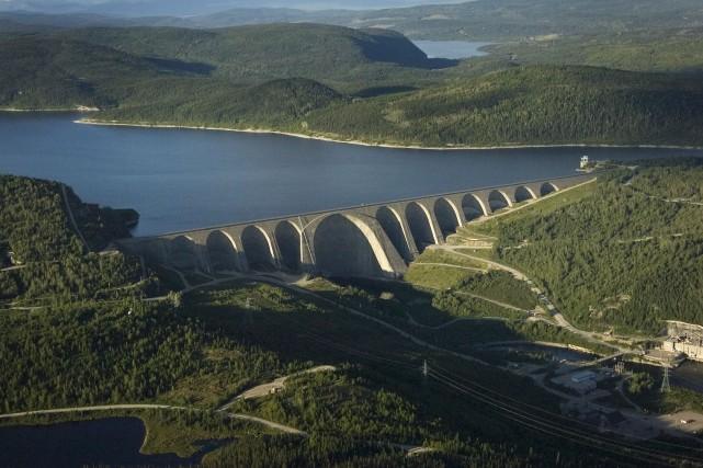 L'actuel rehaussement du niveau d'eau du réservoir Manicouagan... (Photothèque Le Soleil)