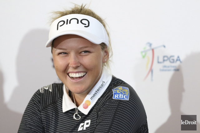 Brooke Henderson, la coqueluche du golf canadien, n'a... (Patrick Woodbury, Le Droit)