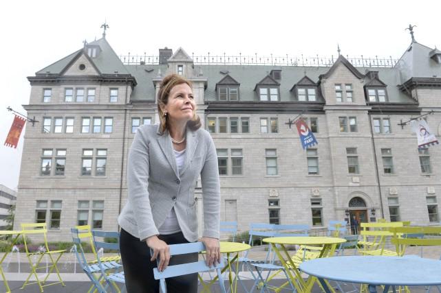 Anne Guérette croit que les citoyens de Québec... (Le Soleil, Jean-Marie Villeneuve)