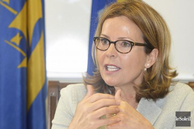 L'ex-président américain Barack Obama est pour Anne Guérette... (Le Soleil, Jean-Marie Villeneuve)