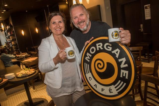 Suzanne et Guy Marcotte, les fondateurs des Cafés... (François Gervais, Le Nouvelliste)