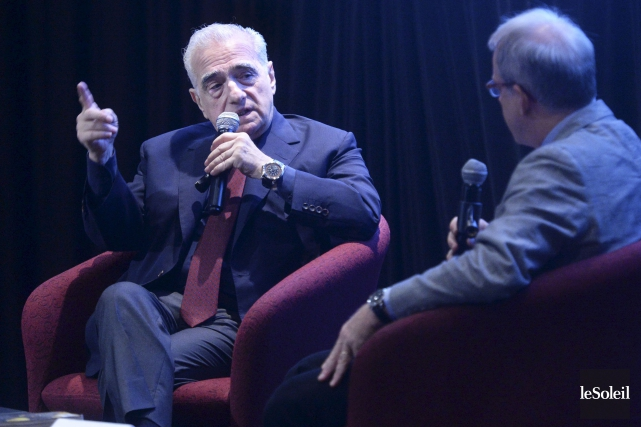 Le célèbre cinéaste Martin Scorsese a été honoré... (Le Soleil, Jean-Marie Villeneuve)
