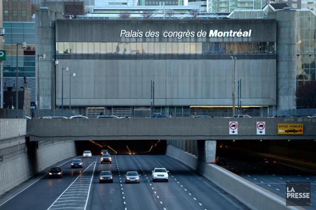 Le Palais des congrès a donné un contrat... (Photo Bernard Brault, Archives La Presse)