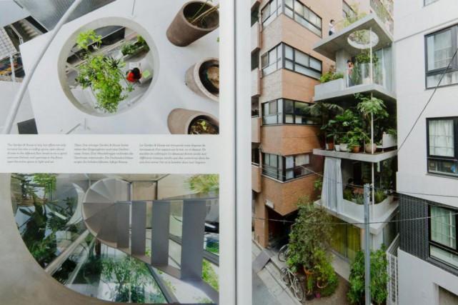 Des pages de Toitures urbaines, îlots dans le... (Photo Olivier Jean, La Presse)