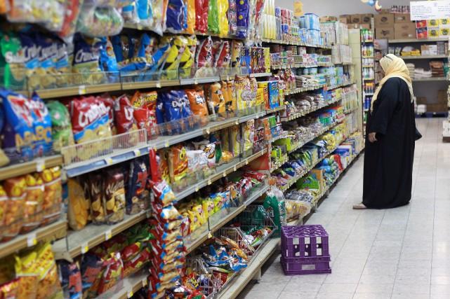 «Chaque jour quelque 1100 tonnes de denrées alimentaires... (REUTERS)