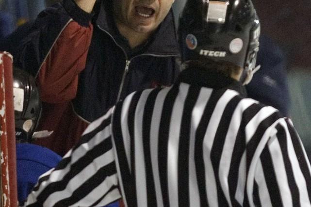 Un joueur de hockey amateur de l'Île-du-Prince-Édouard vient d'être condamné à... (Archives La Presse, André Pichette)