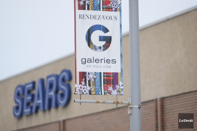 Le magasin Sears des Galeries de Hull ferme ses portes. L'entreprise canadienne... (Etienne Ranger, archives LeDroit)
