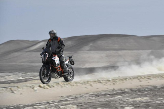 La KTM 1290 Adventure R... (Photo Sebas Romero et Marco Campelli)