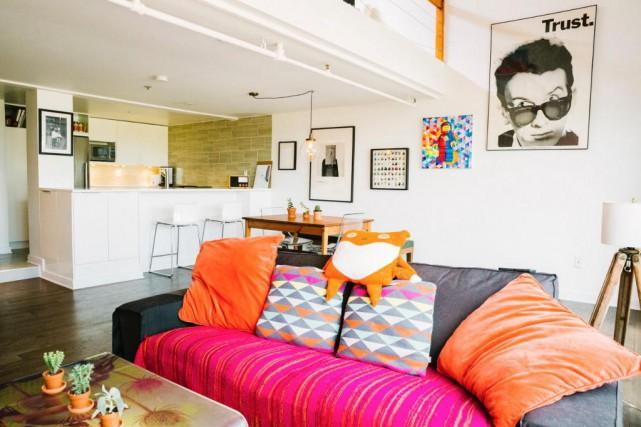 Le loft de Chelsea et de Myles est... (Photo Marie-Christine Gobeil, collaboration spéciale)