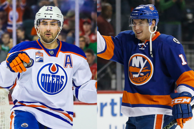 Jordan Eberle et Ryan Strome... (Photos AP)