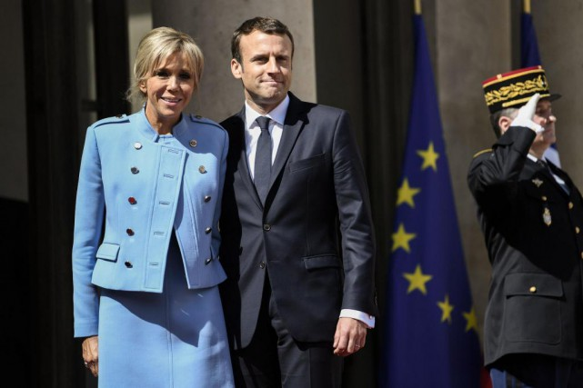 Le 14 mai, le jour de l'investiture du... (PhotoSTEPHANE DE SAKUTIN, Agence France-Presse)