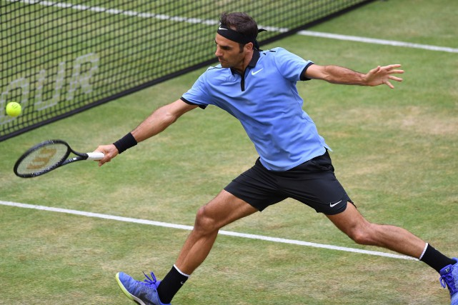 Roger Federer... (Photo Carmen Jaspersen, AFP)