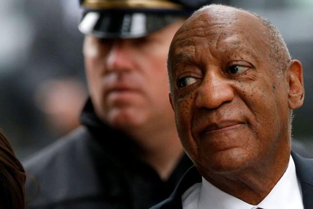 Le second procès de Bill Cosby, poursuivi pour... (PHOTO ARCHIVES REUTERS)