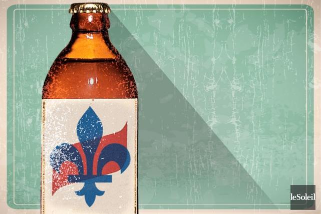 Chez nous, quand on parle de fête, de sport ou de politique, la bière n'est... (Infographie Le Soleil)