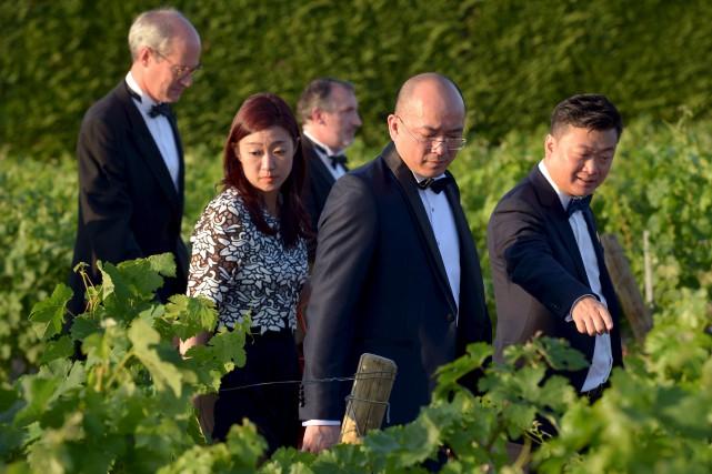 La Chine est maintenant bien présente sur le... (AFP, Nicolas Tucat)
