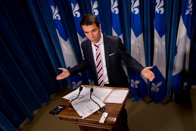 Le caquiste François Bonnardel accuse le gouvernement d'avoir... (Photothèque Le Soleil)