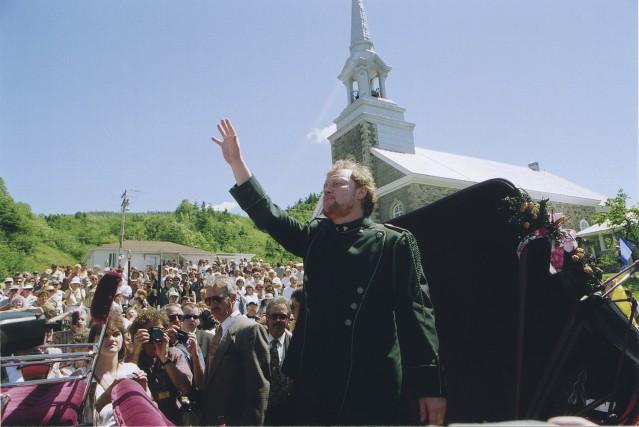 Denys 1erde l'Anse, couronné le 24 juin 1997... (Photo courtoisie Télé-Québec Saguenay-Lac-Saint-Jean)