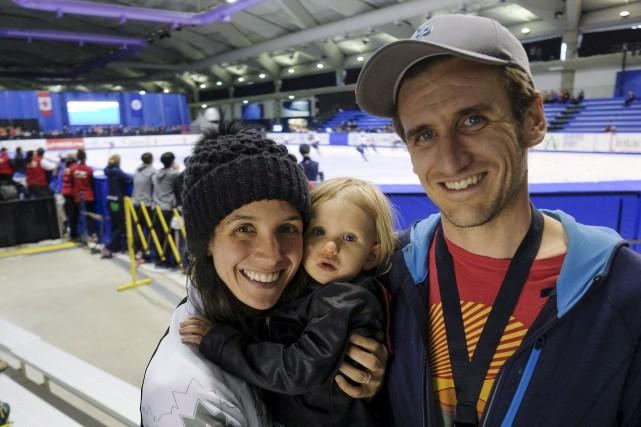 La double médaillée olympique en patinage de vitesse... (Archives La Presse canadienne, Jeff McIntosh)