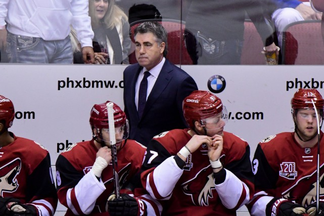 Dave Tippett... (PHOTO ARCHIVES USA Today Sports)