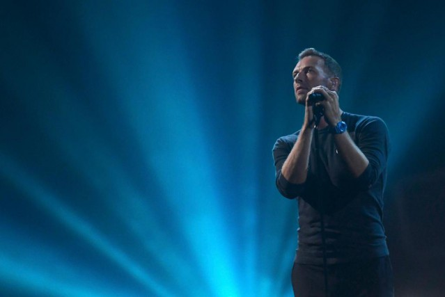 Chris Martin, chanteur de Coldplay... (Photo Toby Melville, Archives Reuters)