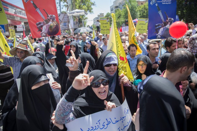 L'Iran est engagé dans la lutte contre le... (PHOTO REUTERS)