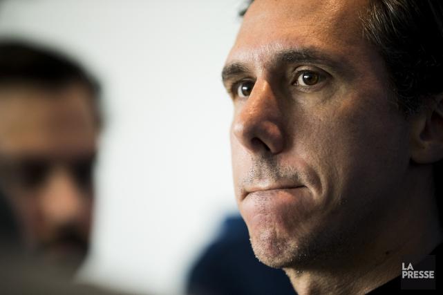 L'entraîneur-chef Mauro Biello espérait voir Daniel Lovitzrevenir rapidement... (PHOTO HUGO-SÉBASTIEN AUBERT, LA PRESSE)