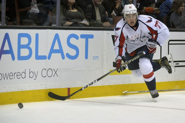 T.J. Oshie... (Photo Gary A. Vasquez, USA TODAY Sports)