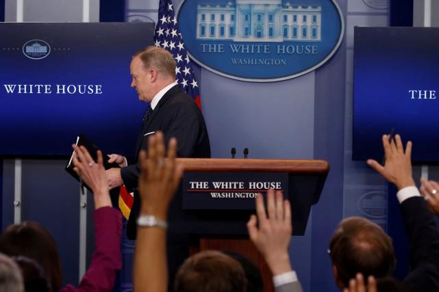 Interrogé sur cette rupture par rapport aux administrations... (PHOTO Jonathan Ernst, REUTERS)