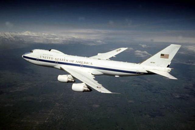 Ces avions --quatre au total-- disposent d'un système... (PHOTO WIKIPÉDIA)