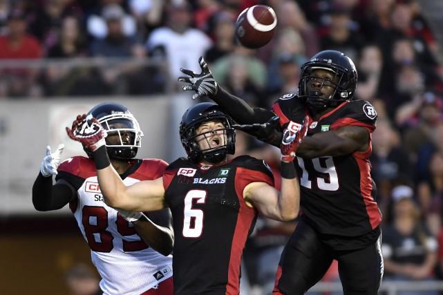 Le duel de vendredi entre le Rouge et... (La Presse canadienne)