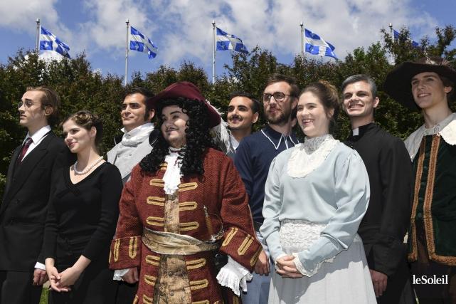 Dix personnages qui ont façonné l'histoire du Québec,... (Le Soleil, Pascal Ratthé)