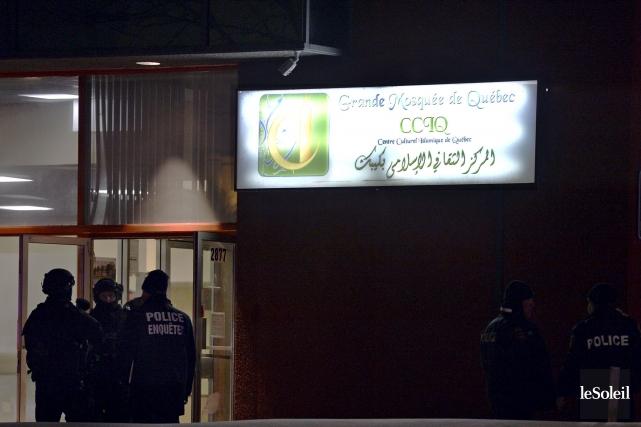 La tuerie du 30 janvier au Centre culturel... (Photothèque Le Soleil, Pascal Ratthé)