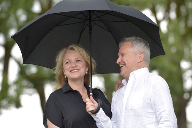 Nancy Bernier et Bertrand Alain... (Le Soleil, Yan Doublet)