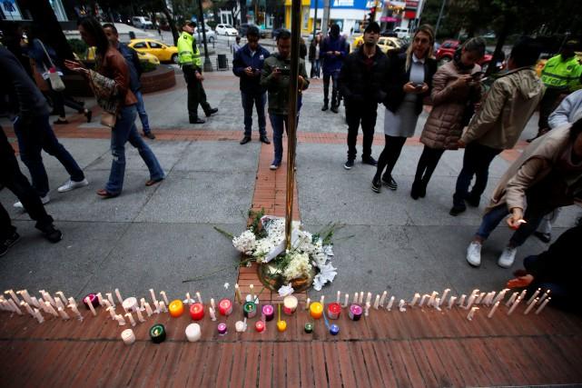 L'attentat à la bombe du 17 juin dans... (Photo Jaime Saldarriaga, REUTERS)
