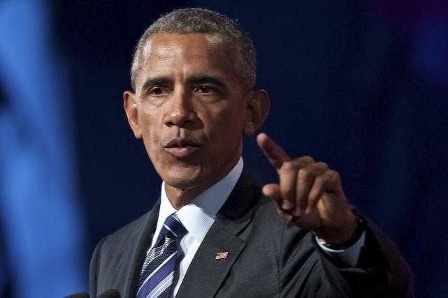 L'ancien président Barack Obama a reconnu début janvier... (Photothèque Le Soleil)