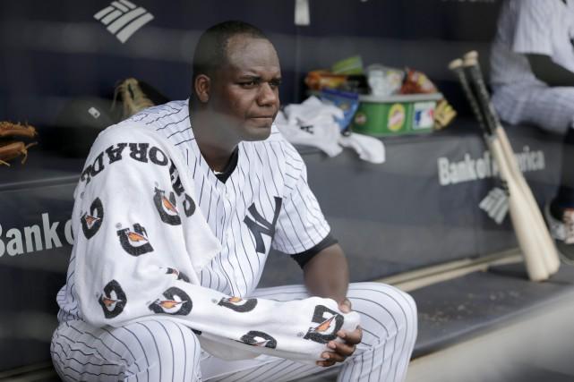 Le lanceur partant des Yankees Michael Pineda a... (Photo Seth Wenig, Ap)