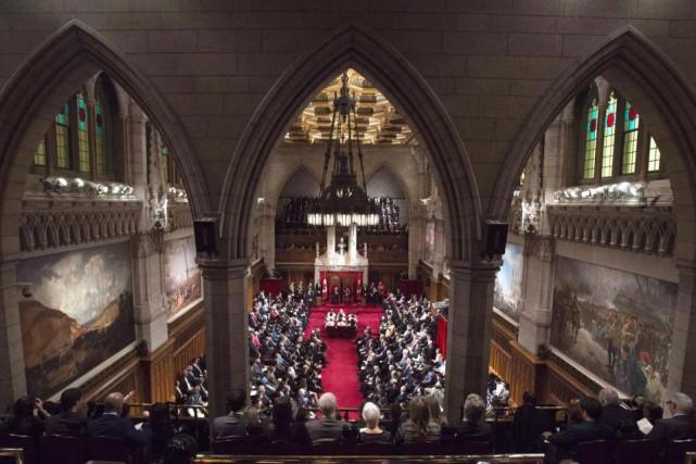«Si le nouveau Sénat empêche le gouvernement Trudeau... (PHOTO SEAN KILPATRICK, ARCHIVES LA PRESSE CANADIENNE)