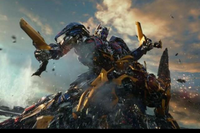 Transformers:The Last Knight a généré des recettes de... (fournie par Paramount)