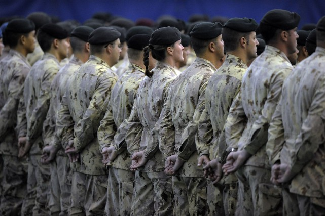 L'armée canadienne veut devenir une institution plus inclusive,... (Photothèque Le Soleil, Patrice Laroche)