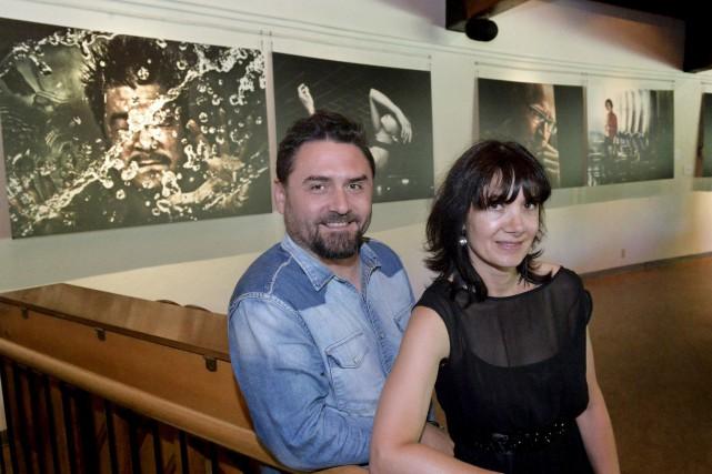 Vanessa-Tatjana Beerli, directrice de CinéVue, est heureuse de... (Spectre Média, Maxime Picard)
