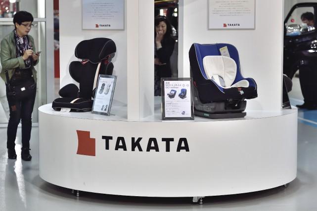 Takata a été terrassée par un scandale de... (AFP, KAZUHIRO NOGI)