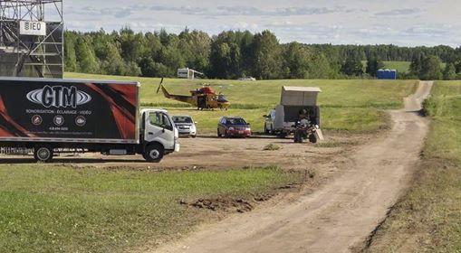 L'intervention des Forces armées canadiennes et de la Sûreté du Québec (SQ) a... (Photo courtoisie)