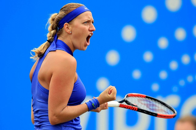 Petra Kvitova... (Photo Mike Egerton, AP/PA)