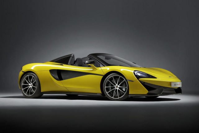 La McLaren 570S Spider... (PHOTO FOURNIE PAR MCLAREN)