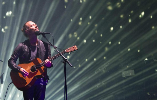Il est bon de voir Thom Yorke et... (PhotoVALéRIE MACON, archives Agence France-Presse)