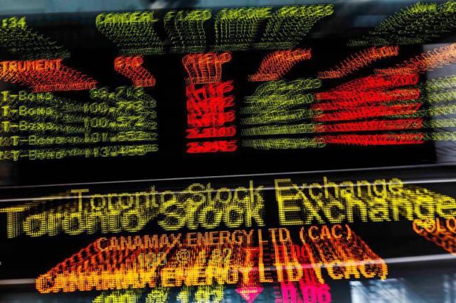 Vendredi, l'indice composé S&P/TSX du parquet torontois perdait... (photo mark blinch, archives reuters)