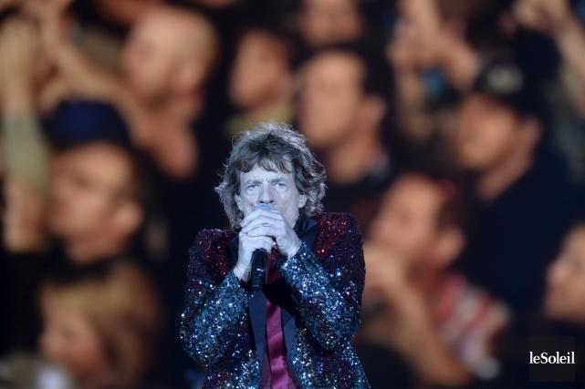Le chanteur Mick Jagger des Rolling Stones... (Photothèque Le Soleil, Jean-Marie Villeneuve)