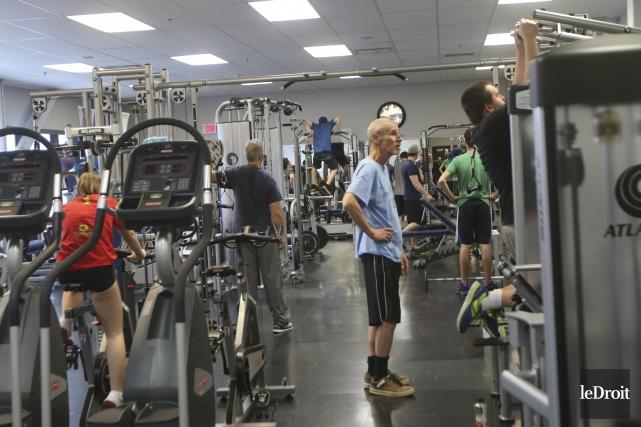 un effort pour sauver la salle de musculation du centre sportif mathieu b 233 langer ville de