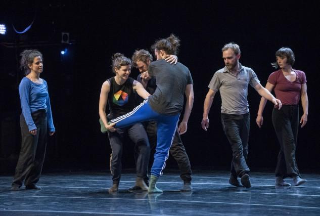 Les danseurs de la compagnie Le fils d'Adrien... (Spectre Média, Frédéric Côté)
